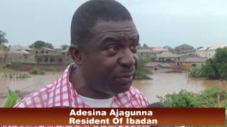OYO STATE: FLOOD WRECKS HAVOC IN IBADAN