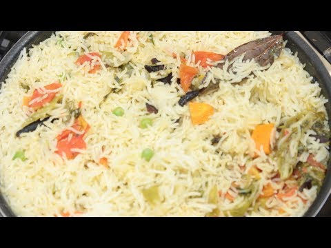 Vegetable Pulao | Home Made Vegetable Pulav Recipe