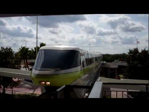 WALT DISNEY WORLD MONORAIL FROM TTC TO EPCOT