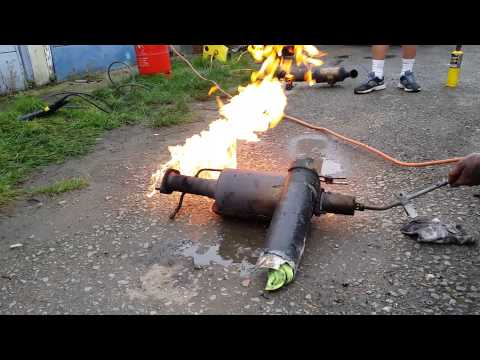 Dpf burning after cleaning