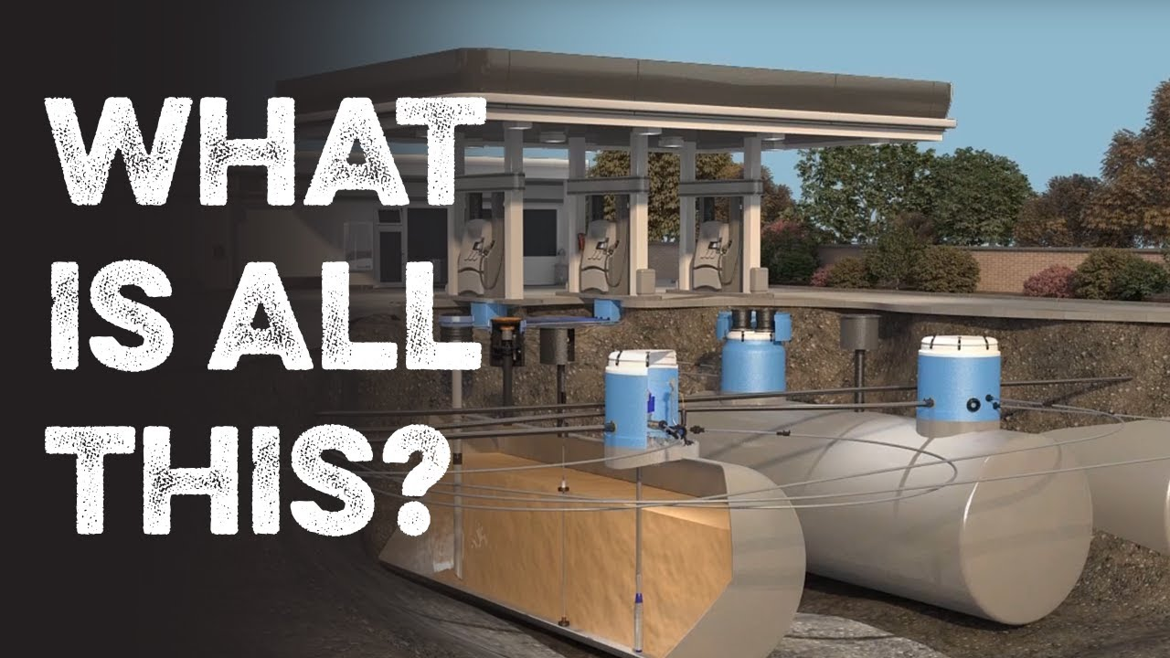 What Actually Happens Underground at a Gas Station
