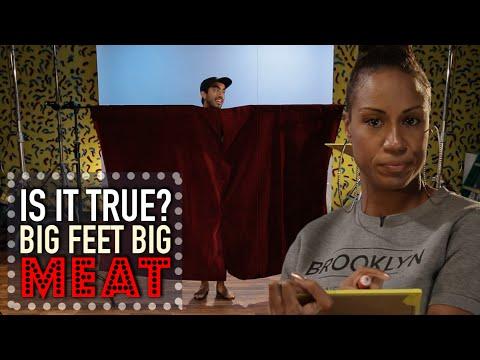 Big Feet Equals Big Meat | Is It True?