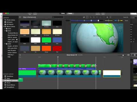 Green Screen 101 from iMovie 10
