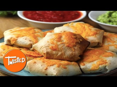 How To Make Chicken Fajita Wrap Bombs   Twisted