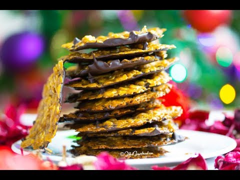 How to Make Easy Toasted Almond Florentines Recipe