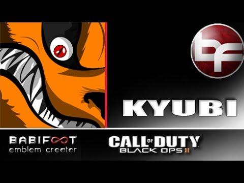 COD Black Ops 2 Emblem Tutorial - Kyubi