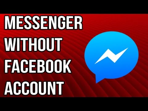 How To Log In To Facebook Messenger Without Facebook Account !