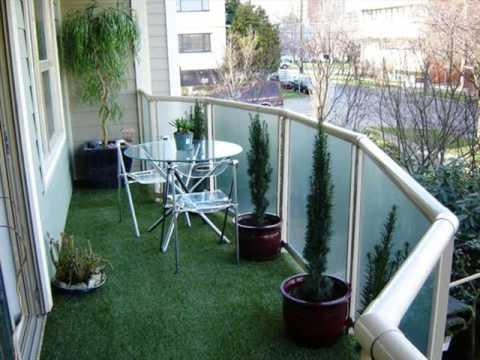 Artificial Grass Balcony | Balcony With Artificial Grass Design Collection Pics