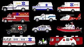 Medical Vehicles - Emergency Vehicles - Ambulances - The Kids