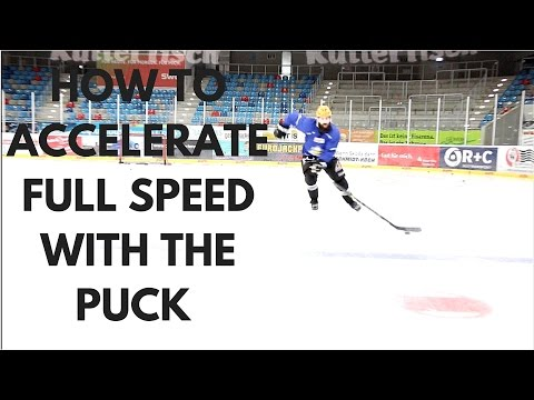 MHH Hockey Tutorials - How To Accelerate Full Speed With The Puck