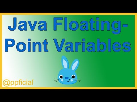 Java Floating Point Numbers - float and double - Java Tutorial - Appficial