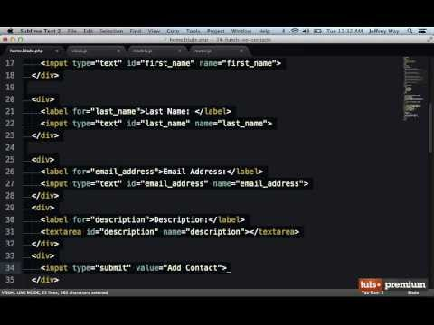 Backbone JS Hands On Contacts Manager Editing And Deleting Contacts - 29 tutsplus
