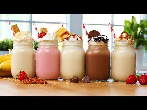 5 OUTRAGEOUS Milkshake Recipes!