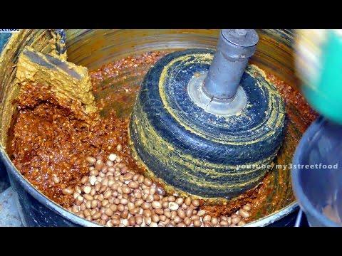 Peanut Chutney   PALLI CHUTNEY   SIDE DISH FOR SOUTH INDIANS BREAKFAST street food