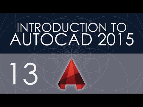 Intro to AutoCAD 2015 - 13 - Leader Styles