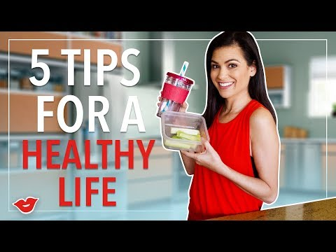 5 Tips for a Healthy Life | Kimberly from Millennial Moms