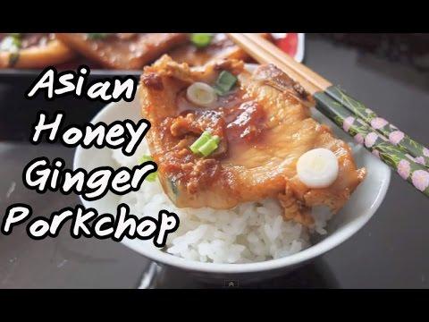 Asian Honey Ginger Porkchops