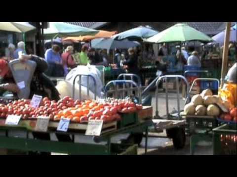 The Central Food Market of Riga, Latvia