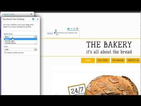 HTML Website Builder | Adding a Facebook Like Button to your Wix Website