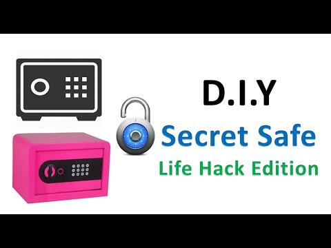 Life Hack Secret Safe D.I.Y