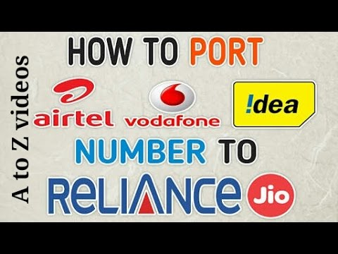 How to change other network to JIO (PORT)