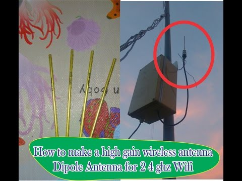 Simpel hack omni wifi , make a wifi antenna is easy and simple