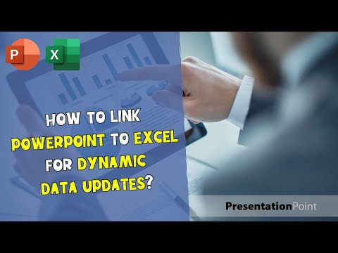 How to link PowerPoint to Excel for dynamic data updates?