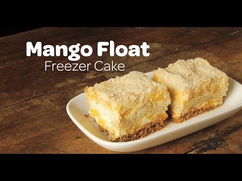 Mango Float Freezer Cake Recipe | Yummy Ph
