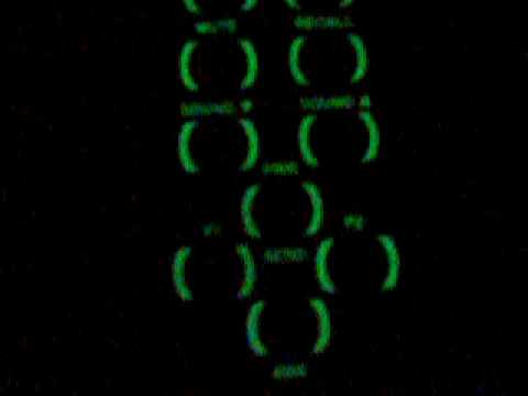 Phosphorescence Ink on a Membrane Switch