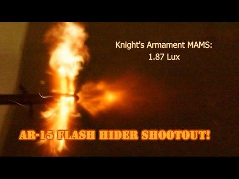 AR-15 Flash Hider Shootout