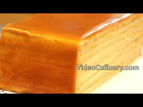 Caramel Layer Cake Recipe - Video Culinary