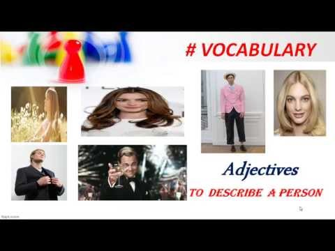 English Lesson | English Grammar | Vocabulary | Adjectives to describe a Person