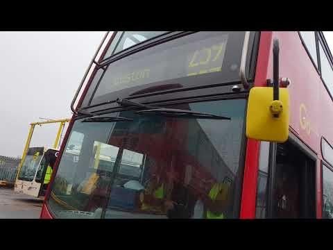 Blind change on Go Ahead London EN18 (LK08FLH)