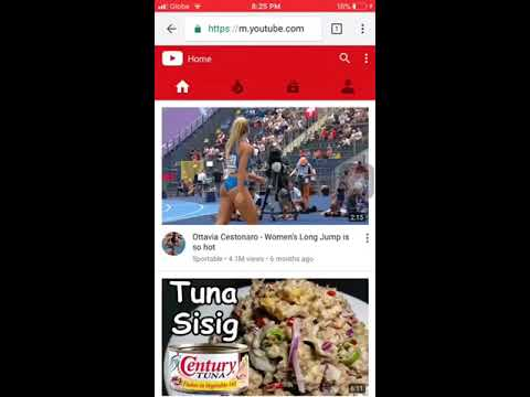 How to change youtube mobile view to desktop view