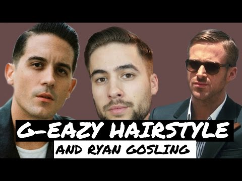Classic Side Part: G-Eazy Hairstyle Tutorial | Mens Hairstyle 2017