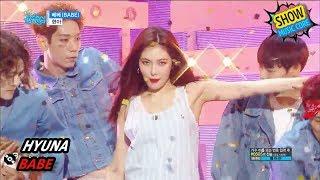 [Comeback Stage] HyunA - BABE, 현아 - 베베 Show Music core 20170902
