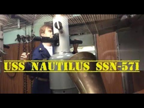 USS NAUTILUS SSN-571 SUBMARINE MUSEUM IN GROTON, CT USA