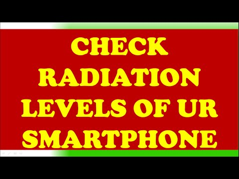 CHECK RADIATION LEVELS (SAR) OF UR SMARTPHONE? UR PHONE IS SAFE OR DANGEROUS