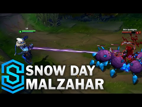 Snow Day Malzahar Skin Spotlight - League of Legends