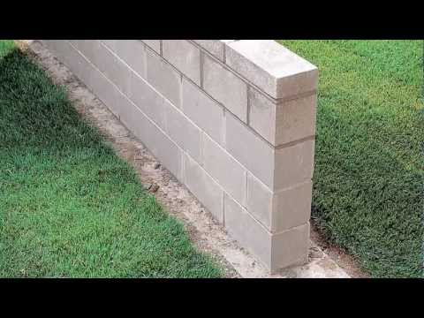 Building a Block Wall