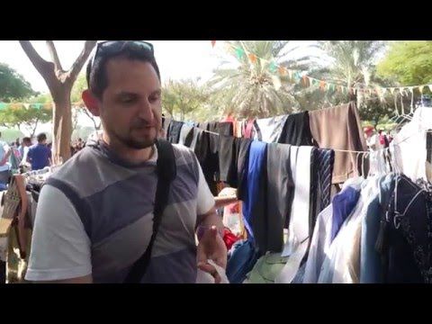 The Dubai Flea Market Review - Zabeel Park - 2017 Cheap Clothes