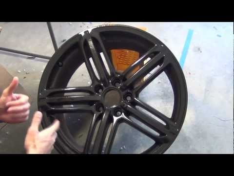 PlastiDip Glossifier - Over Black Rims - How to from DipYourCar.com