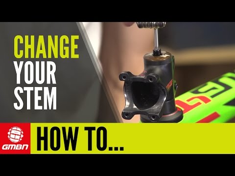 How To Change Your Stem – Mountain Bike Maintenance