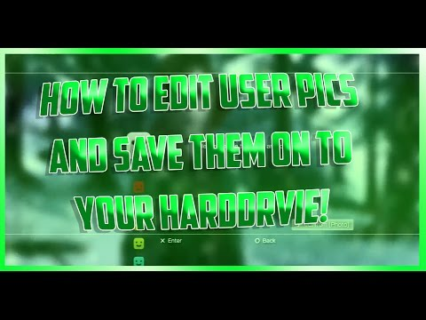 How To Edit Your User Pictures -