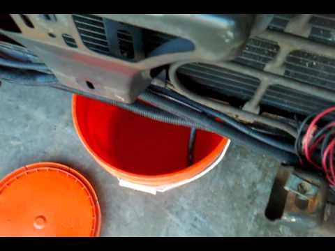 Draining Block Coolant in s10 2.2l   2.3gp