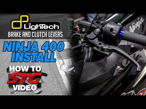 Lightech Kawasaki Ninja 400 Brake and Clutch Levers | Sportbike Track Gear