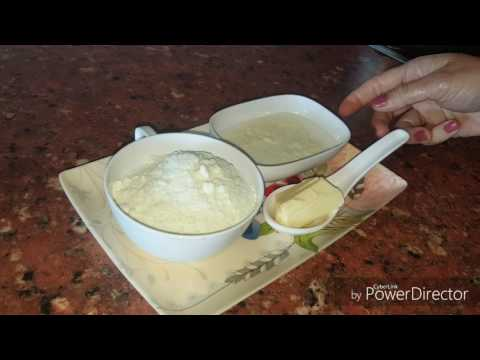 How to make khoya with dry milk