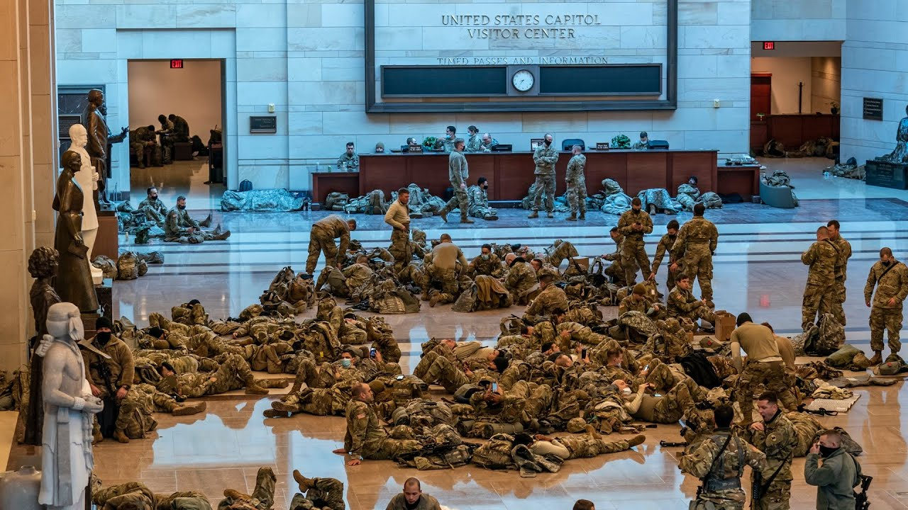 National Guard stationed at U.S. Capitol amid security concerns