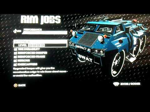Saints Row 3: Customize Non-Customizable Vehicles