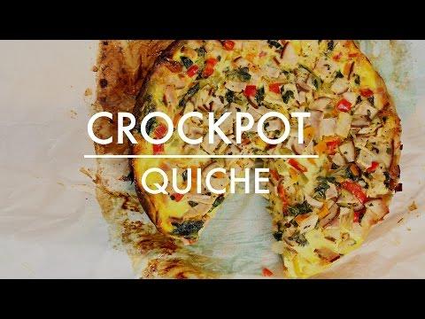 Crockpot Quiche